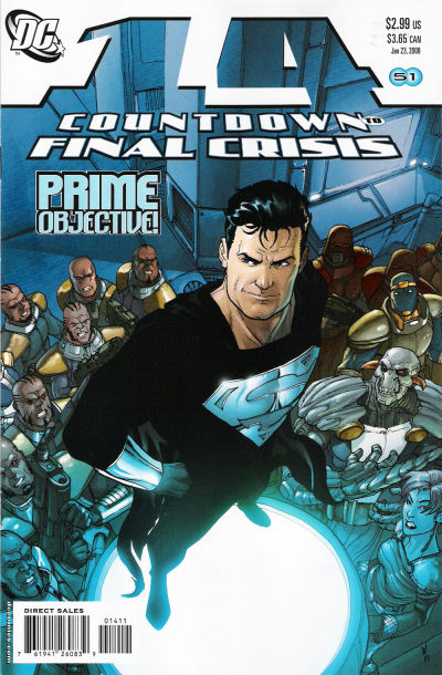 Cover for Countdown (DC, 2007 series) #14