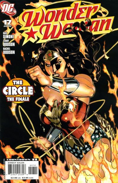 Cover for Wonder Woman (DC, 2006 series) #17