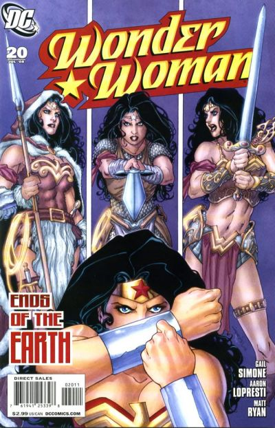 Cover for Wonder Woman (DC, 2006 series) #20