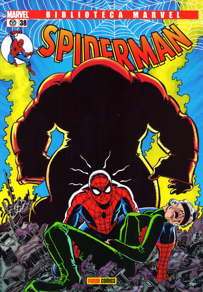 Cover for Biblioteca Marvel: Spiderman (2005 series) #38