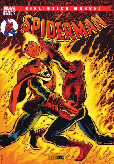 Cover for Biblioteca Marvel: Spiderman (2005 series) #42
