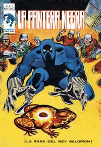 Cover Thumbnail for Pantera Negra (Ediciones Vértice, 1978 series) #1