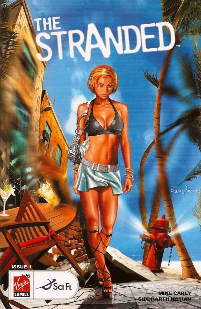 Cover for The Stranded (Virgin, 2007 series) #1