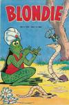 Cover for Blondie (Åhlén & Åkerlunds, 1956 series) #9/1957