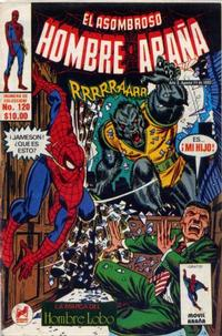 Cover Thumbnail for El Asombroso Hombre Araa (Novedades, 1980 series) #120