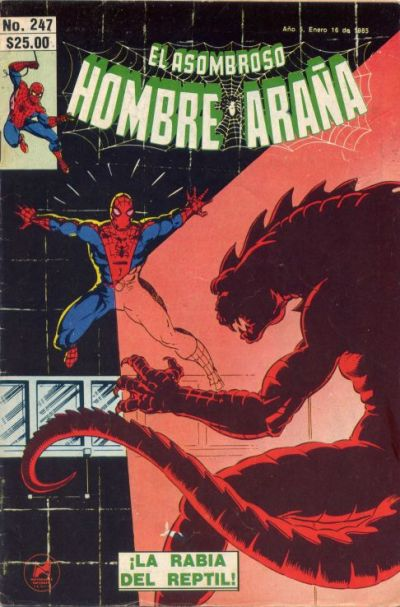 Cover for El Asombroso Hombre Araa (1980 series) #247
