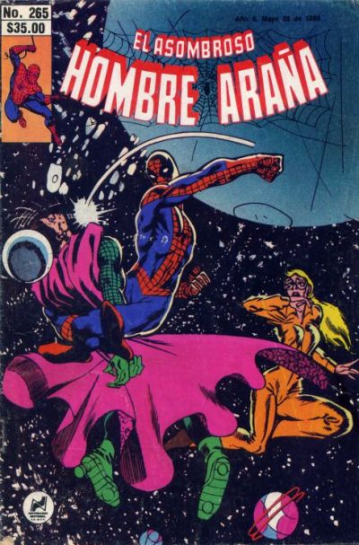 Cover for El Asombroso Hombre Araa (1980 series) #265