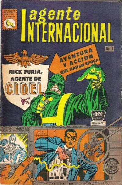 Cover for Agente Internacional (1966 series) #1