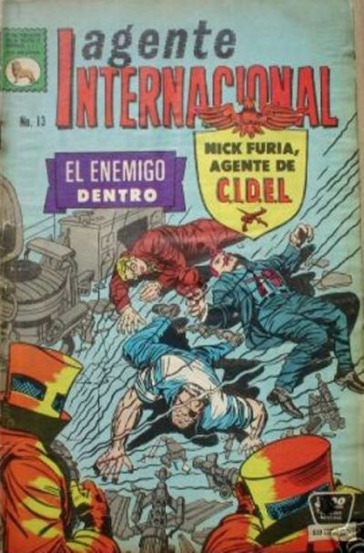 Cover for Agente Internacional (1966 series) #13
