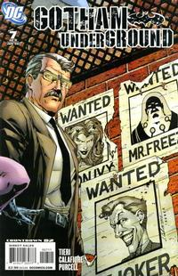 Cover Thumbnail for Gotham Underground (DC, 2007 series) #7