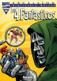 Cover Thumbnail for Biblioteca Marvel: Los 4 Fantásticos (Planeta DeAgostini, 1999 series) #3