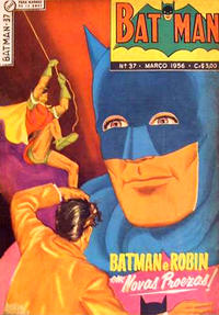 Cover Thumbnail for Batman (1ª Série) (Editora Brasil-América [EBAL], 1953 series) #37