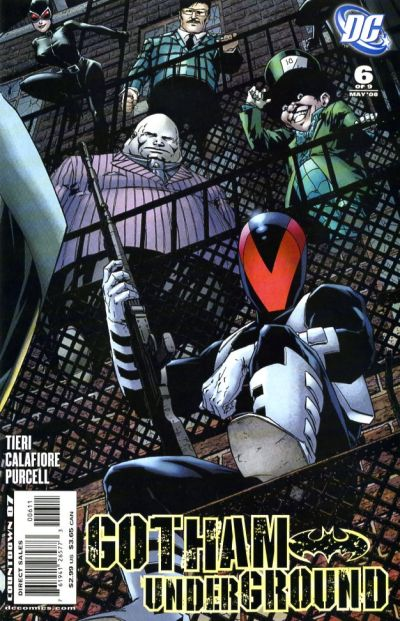 Cover for Gotham Underground (DC, 2007 series) #6