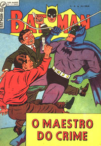 Cover Thumbnail for Batman (2ª Série) (Editora Brasil-América [EBAL], 1961 series) #38