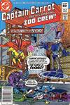 Cover for Captain Carrot and His Amazing Zoo Crew! (DC, 1982 series) #6 [Newsstand Edition]