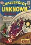 Cover for Challengers of the Unknown (DC, 1958 series) #25