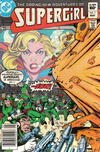 Cover Thumbnail for The Daring New Adventures of Supergirl (1982 series) #7 [Newsstand]