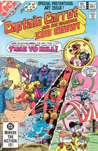 Cover Thumbnail for Captain Carrot and His Amazing Zoo Crew! (DC, 1982 series) #9 [Direct Edition]