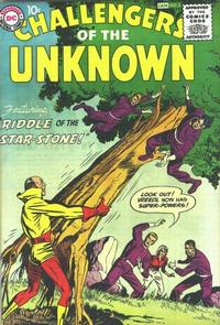 Cover Thumbnail for Challengers of the Unknown (DC, 1958 series) #5