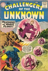 Cover Thumbnail for Challengers of the Unknown (DC, 1958 series) #8