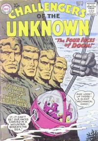 Cover Thumbnail for Challengers of the Unknown (DC, 1958 series) #10