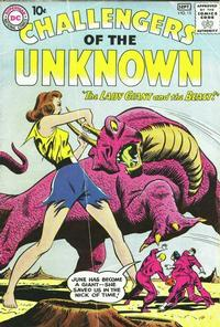 Cover Thumbnail for Challengers of the Unknown (DC, 1958 series) #15