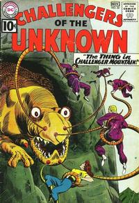 Cover Thumbnail for Challengers of the Unknown (DC, 1958 series) #22