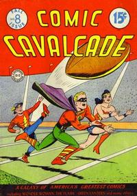 Cover Thumbnail for Comic Cavalcade (DC, 1942 series) #8