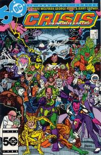 Cover for Crisis on Infinite Earths (DC, 1985 series) #9 [Newsstand]