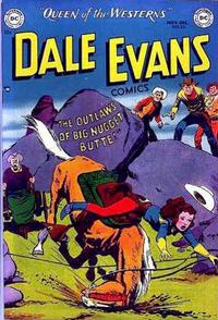 Cover Thumbnail for Dale Evans Comics (DC, 1948 series) #20