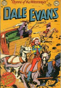 Cover Thumbnail for Dale Evans Comics (DC, 1948 series) #21
