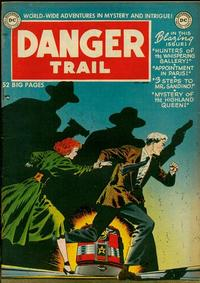 Cover Thumbnail for Danger Trail (DC, 1950 series) #1