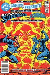 Cover Thumbnail for DC Comics Presents (DC, 1978 series) #36