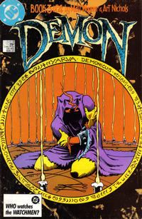 Cover Thumbnail for The Demon (DC, 1987 series) #3 [Direct Edition]