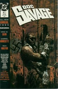 Cover Thumbnail for Doc Savage Annual (DC, 1989 series) #1