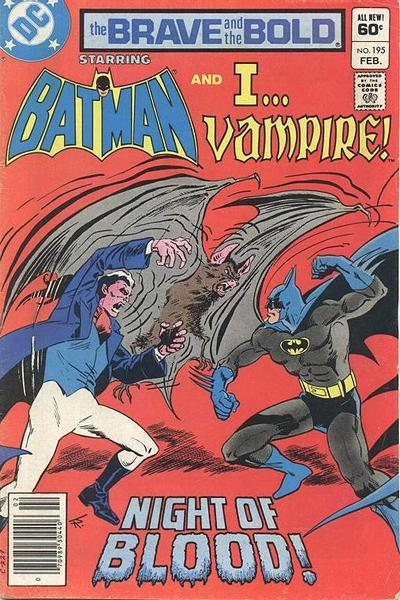 Cover for The Brave and the Bold (DC, 1955 series) #195 [Direct]