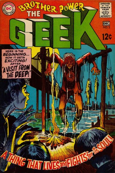 Cover for Brother Power the Geek (DC, 1968 series) #2