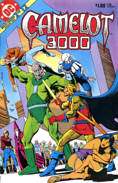 Cover for Camelot 3000 (DC, 1982 series) #2
