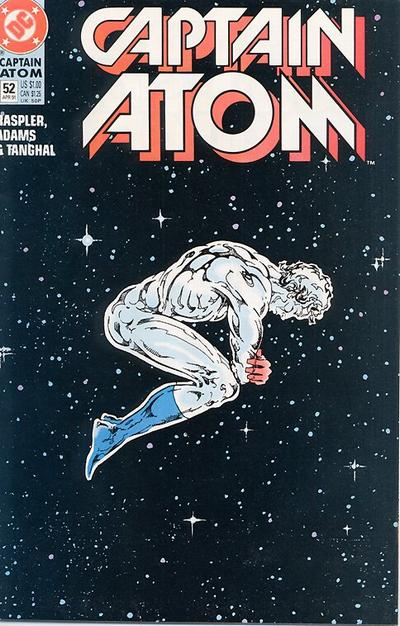 Cover for Captain Atom (DC, 1987 series) #52