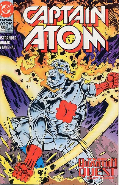 Cover for Captain Atom (1987 series) #56
