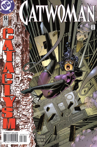 Cover for Catwoman (DC, 1993 series) #56