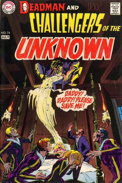 Cover for Challengers of the Unknown (DC, 1958 series) #74