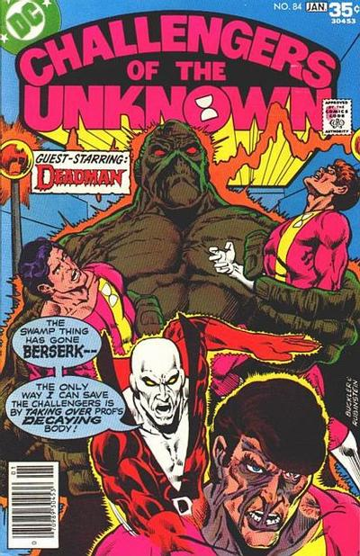 Cover for Challengers of the Unknown (DC, 1958 series) #84