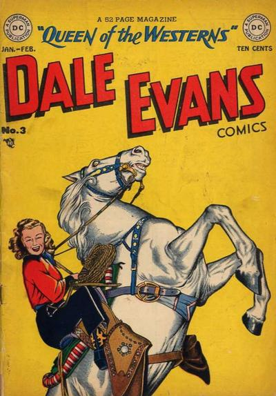 Cover for Dale Evans Comics (DC, 1948 series) #3