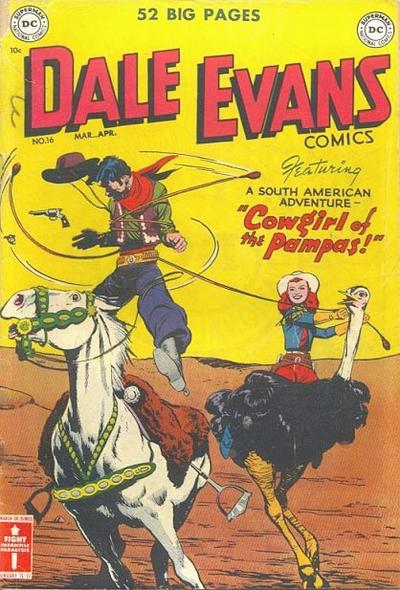 Cover for Dale Evans Comics (DC, 1948 series) #16