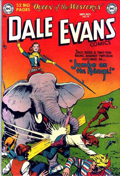 Cover for Dale Evans Comics (DC, 1948 series) #19