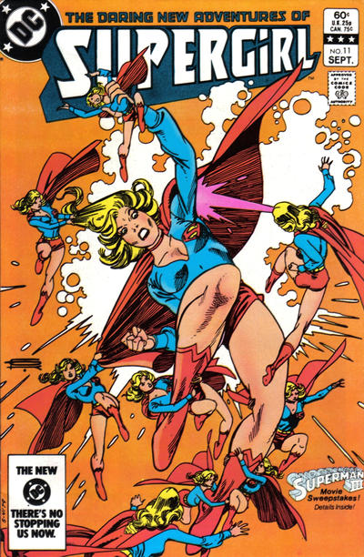 Cover for The Daring New Adventures of Supergirl (DC, 1982 series) #11 [Direct-Sales]
