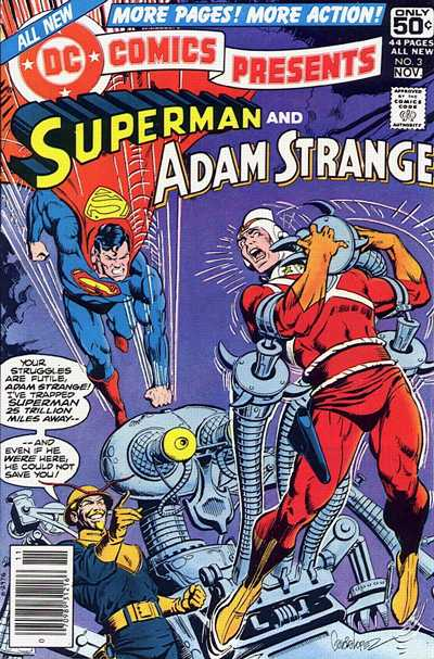 Cover for DC Comics Presents (1978 series) #3