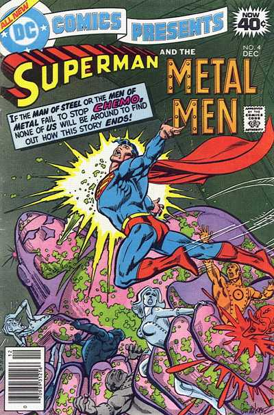 Cover for DC Comics Presents (DC, 1978 series) #4