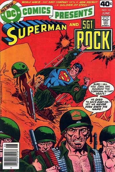 Cover for DC Comics Presents (DC, 1978 series) #10